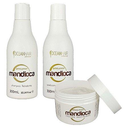 Kit Hidratação Mandioca Brazil Amazon - Ocean Hair