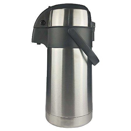 Garrafa Térmica Aço Inoxidável  Inquebrável 2,5 Litros - Fratelli