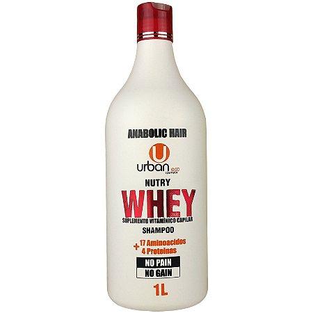 Shampoo Nutry Whey Suplemento Vitamínico Capilar No Pain No Gain 1 Litro - Urban Eco