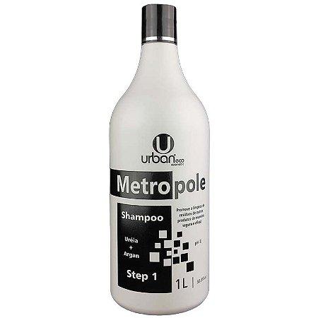 Shampoo Metropole Uréia+Argan 1 Litro - Urban Eco