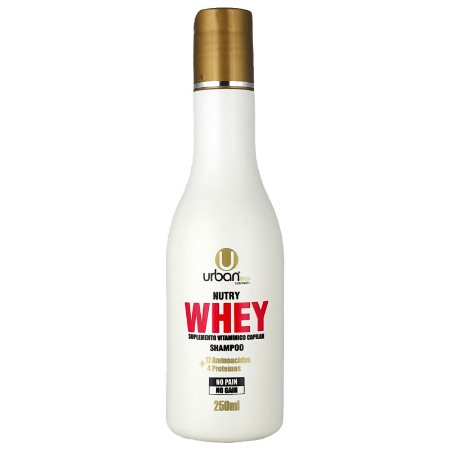 Shampoo Nutry Whey Suplemento Vitamínico Capilar No Pain No Gain 250ml  - Urban Eco