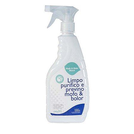 Mofo & Bolor Attack Limpa Purifica e Previne Mofo Bolor e Áreas Sujeitas a Germes Pump 500ML ECONANO