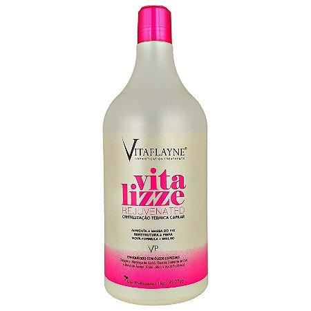 Cristalização Térmica Capilar Vitalizze Rejuvenated 1 kg Relxam e Alisam os Fios - Vitaflayne