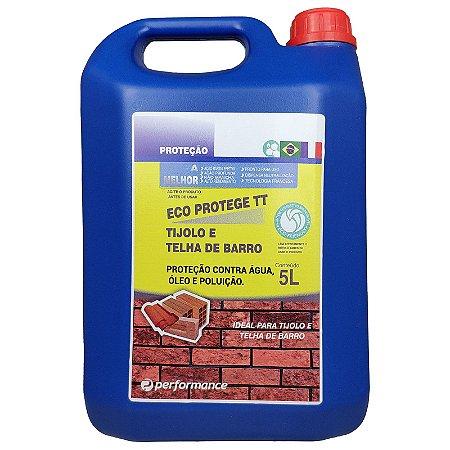 Eco Protege TT Proteção para Telhas e Tijolos contra Água Umidade Óleo e Poluição 5L - Performance