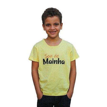 Camisa Infantil Sou de Mainha