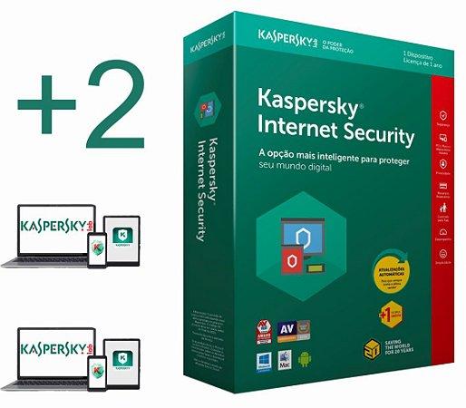 Kaspersky Internet Security 2020  licença para 02 PC's (dispositivos) por 1 ano - VERSÃO DOWNLOAD