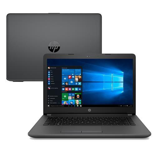 Notebook HP 246 G6 Processador Intel Core i3 7ª Geração  4 GB  500 gb Tela 14p Windows 10
