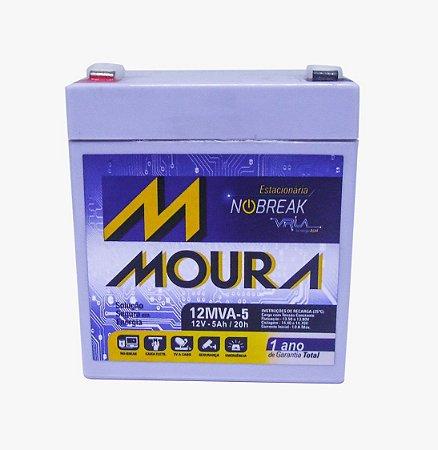 Bateria Moura para Nobreak Selada 12 v 5A 12MVA-5
