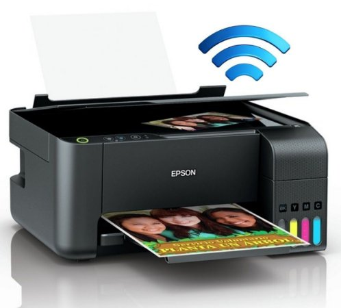 Impressora Epson Multifuncional Ecotank L3150 Wifi e Usb Imprime Copia e Digitaliza