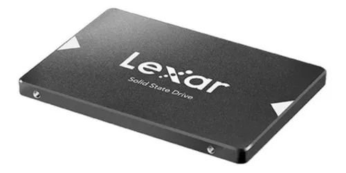 SSD LEXAR 256GB NS100 SATA III PARA DESKTOP , NOTEBOOK E ULTRABOOK.