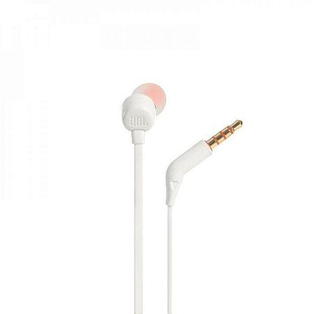 Fone de ouvido JBL Tune 110 - Branco