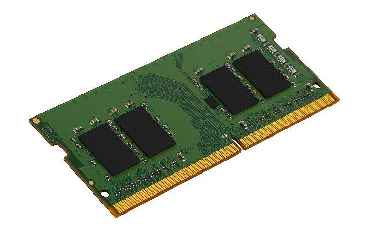 MEMÓRIA RAM PARA NOTEBOOK KINGSTON 8 GB SODIMM DDR4 2666Mhz