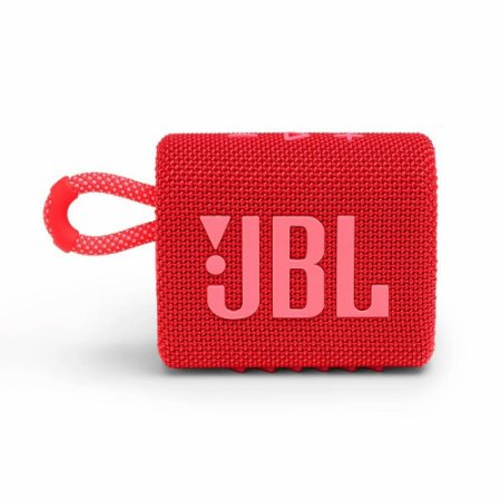 CAIXA BLUETOOTH JBL GO3 RED VERMELHO