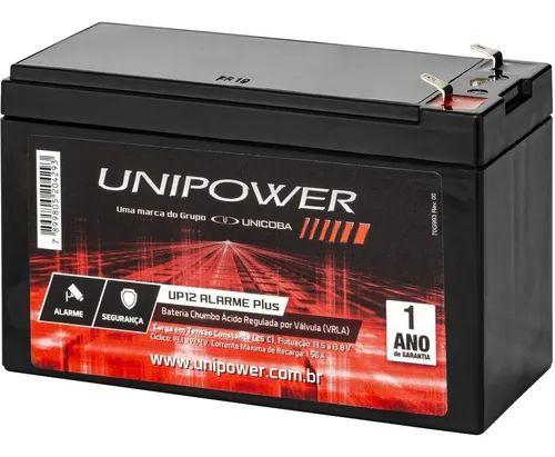 bateria para nobreak 12 volts 7 amperes Unipower estacionária VRLA