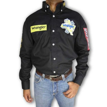 Camisa Country Ekip Rozeta Copa Wrangler Cowboy Masculina