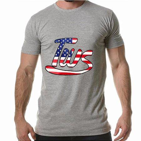 Camiseta Tws Cinza EUA