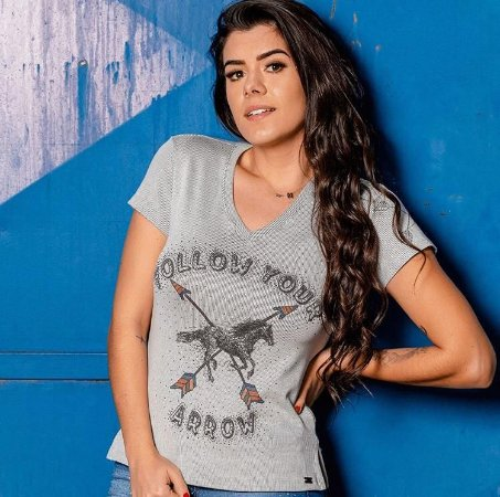 T - SHIRT FOLLOW - MISS COUNTRY