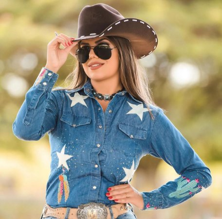Camisa Miss Country - Star
