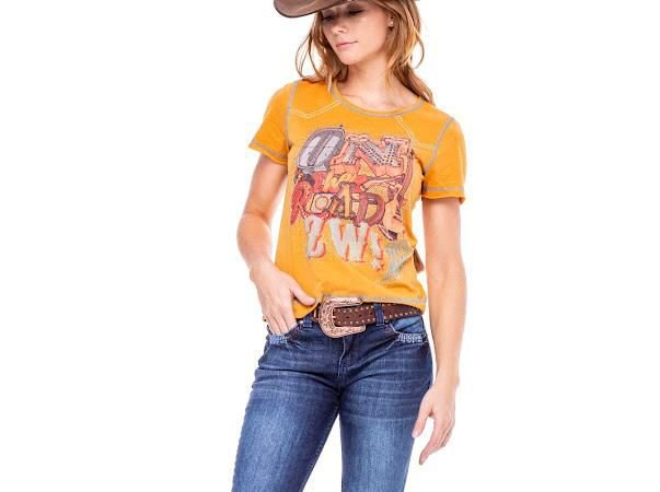 T - Shirt Zenz Western - On The Road
