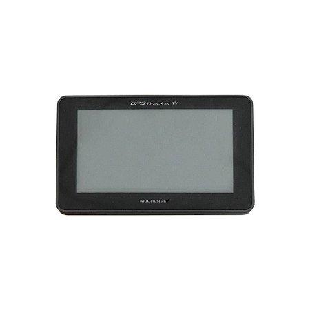 """Navegador GPS 4,3"""" Tekpix TV Digital e FM Multilaser - GP021"""