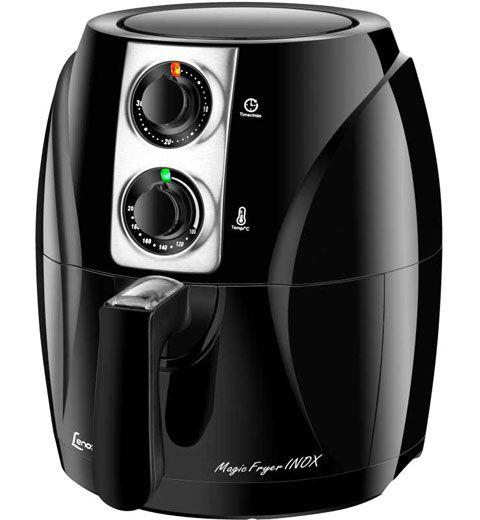 Fritadeira Eletrica Magic Fryer Inox Lenoxx 3 Litros