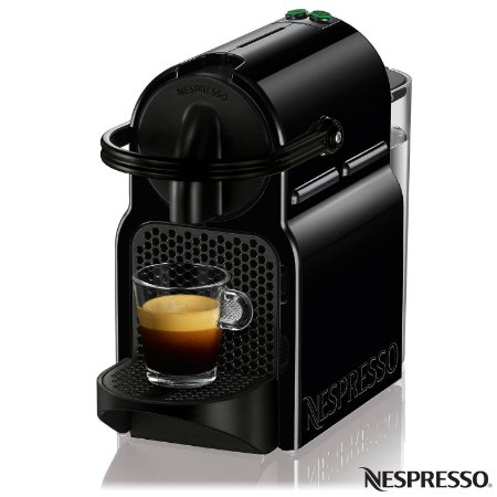 Cafeteira Nespresso Inissia D40 com Kit Boas Vindas - Preta