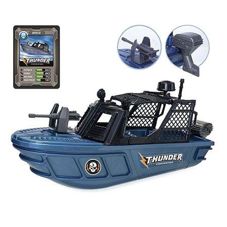 Barco Thunder Commando c/ Acessórios - Usual