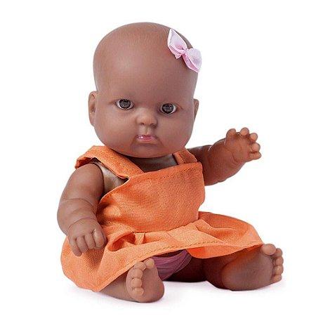Boneca Nenequinha Classica Negra
