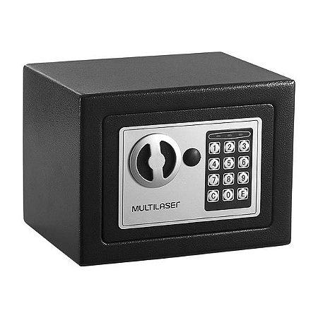 Cofre Eletrônico Multilaser - Preto
