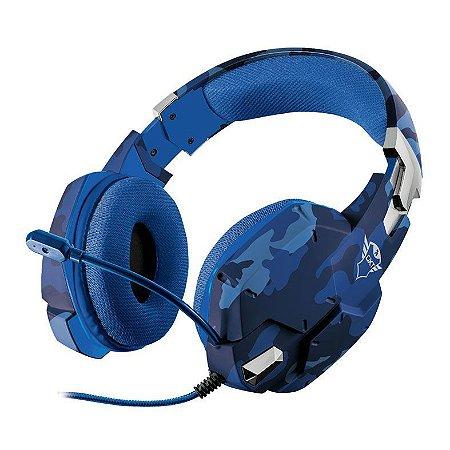 Headset Gamer T23249 Trust GXT 322B Carus Azul