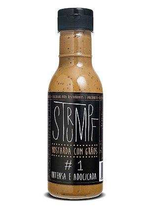 Mostarda Strumpf - #1 Intensa e Adocicada garrafa PET 470 g