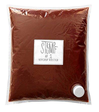 0.1 Ketchup #1 Rústico Triturado 5,3Kg Bag