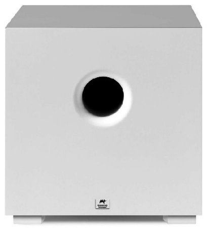 Subwoofer  AAT Compact Cube 8 Cor Branco