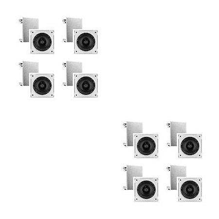 Caixa Frahm 6cx 50 Branca- Quadrada ( 8 unidades )