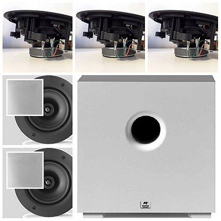 Kit Home 5.1 AAT ( 3 cxs NQ6 A100 + 2 NQ6100 + Subwoofer )