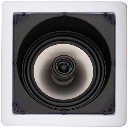 Caixa Gesso Loud SL6-100 para Embutir Quadrada com Falante Angulado