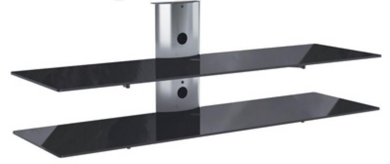 Rack Airon Simply 135/2 C TI BLACK GLASS BLACK