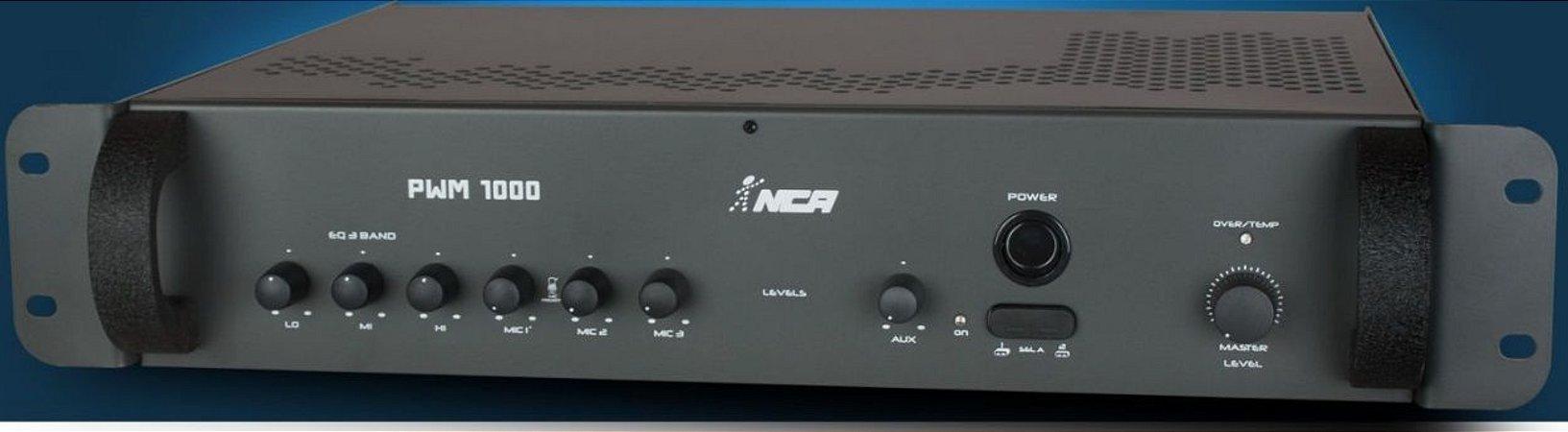 Pré-Amplificador mixer PWM 1000 NCA
