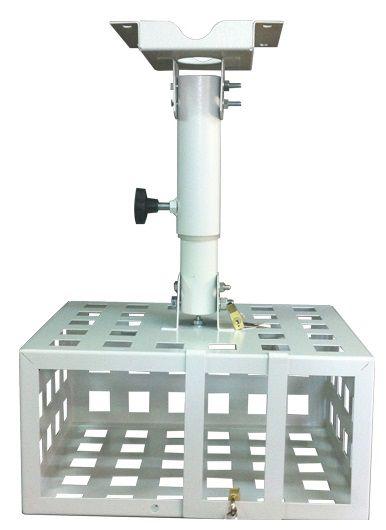 Suporte para Projetor Gaiola Tecnomast com Tubo de Regulagem Telescópico