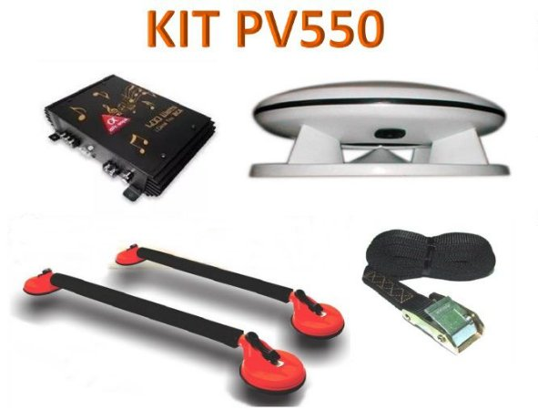 Kit PV550 Propaganda Volante Fibrasom