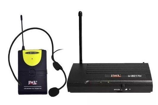 MICROFONE SEM FIO UHF  U-8017H JWL