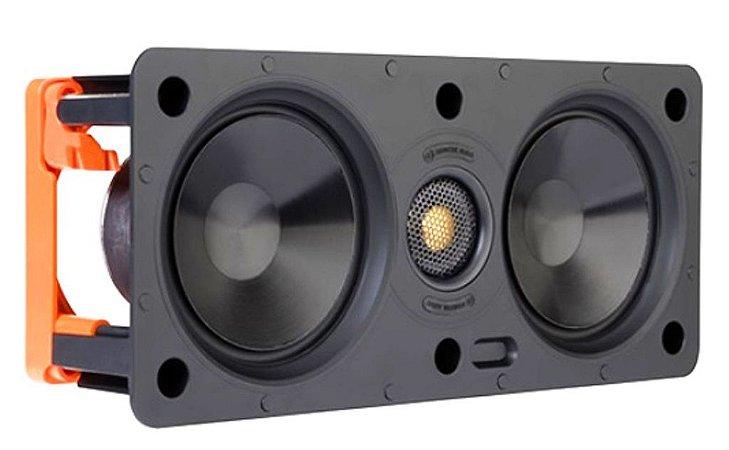 Caixa Acústica Central Arandela Gesso SW150LCR Monitor Áudio (Unid. )