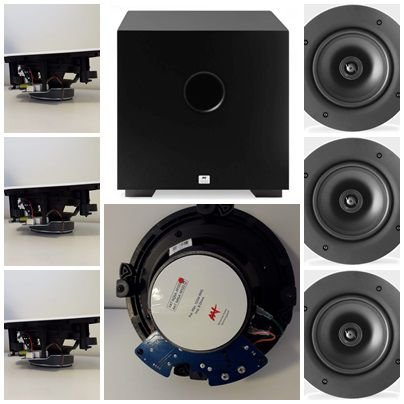 Kit Home 7.1 AAT ( 3 cxs NQ6 A100 + 4cxs NQ6100 + Sub Comp Cube 8 )