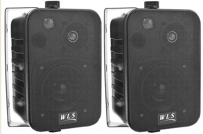 Caixa WLS M4 para som ambiente cor black ( PAR )