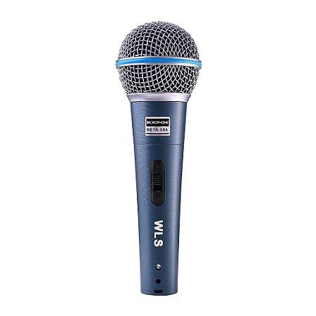 Microfone WLS M58A com fio