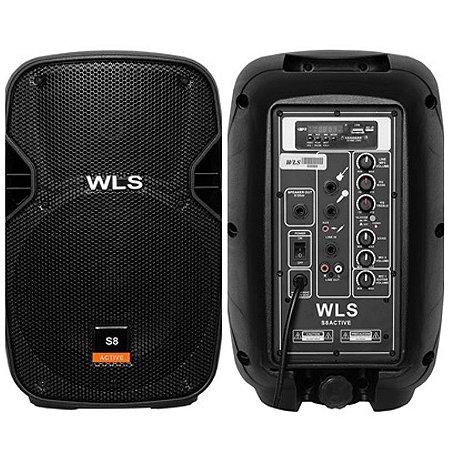 Caixa Acústica WLS  S8  Ativa com Bluetooth