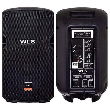 Caixa Acústica  WLS S10   Ativa com Bluetooth