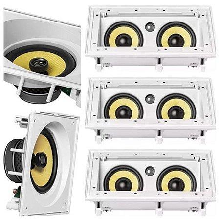 Kit Home Jbl 5.0 - 3 caixas CI55RA + 2 CAIXAS CI8SA
