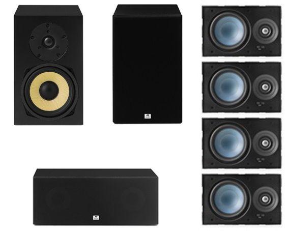 Kit Home 7.0 AAT ( 2 Cxs Rakt BSF-70 + 1 Cx Rakt C-140 + 4 Cxs LRE100 )
