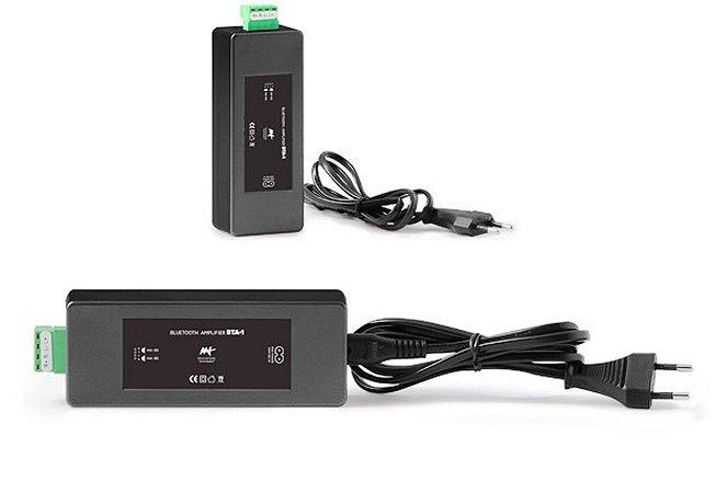 Amplificador AAT BTA-1 Bluetooth Para Som Ambiente 60W RMS